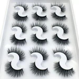 6D Mink Black Eye Lash Makeup Women Eyelashes New